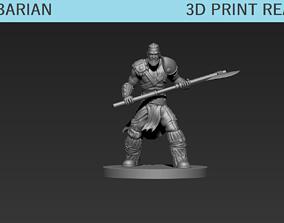 figurines Barbarian Mini 3D printable model