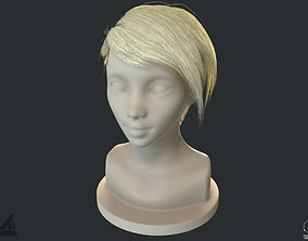 PBR Realtime short hair with the Ornatrix 3dsmax realtime