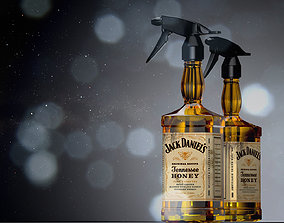 3D model Jack Daniels water Sprayer
