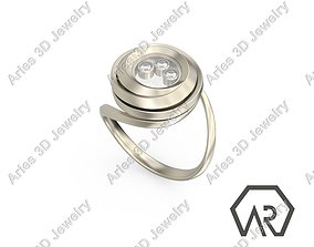 Happy Ring 4 3D print model