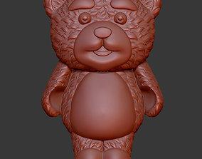 Lollipop bear 3D print model
