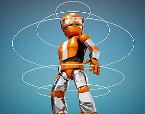 3D animated Roborob