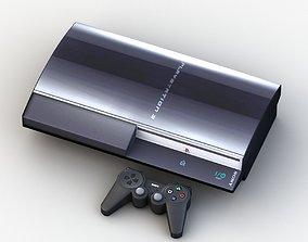 Sony PlayStation 3 3D model