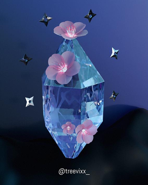 sakura crystal