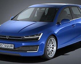 Generic Hatchback 2017 3D model