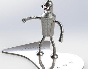 3D print model Bender Rodriguez