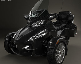 3D model BRP Can-Am Spyder RT 2014