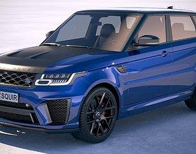 Range Rover Sport SVR 2018 3D