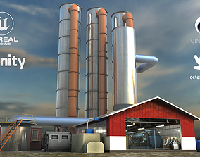 Factory hardware collection 3D model
