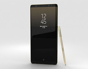 3D model samsung Samsung Galaxy Note 8 Maple Gold