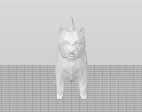 Low Poly West Highland Terrier V2 - Westie 3D print model