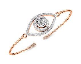 jewelry Women bracelet 3dm stl render detail