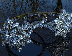 Wedding ring 7 3D print model