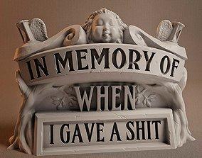 funny Memorial - 3D Print Model