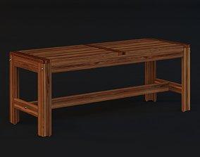 3D model Ikea Applaro Bench ikea