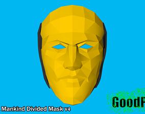 Deus Ex Mankind Divided Mask v4 3D print model
