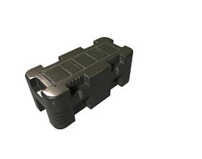 Sci-fic container case 3D model