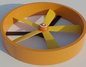 3D asset realtime Turbine