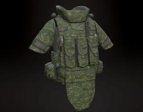 3D model 6b43 Body Armor