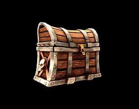 Treasure Chest Blizzard style 3D model