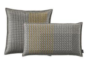 3D Cushion CANEVAS GEO GREY by Gan