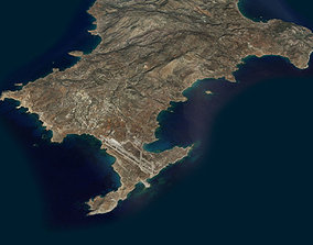 Karphatos Island 3D model