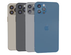 3D model VR / AR ready Iphone 12 pro