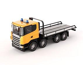 3D Scania Evacuator model