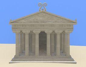 monument Greek Temple 3D