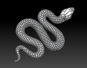 mamba 3D printable model snake