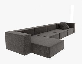 3D Wall modular sofa living divani