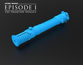 Obi-Wan Kenobi TPM Lightsaber 3D print model