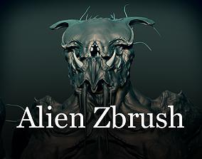 Alien Zbrush 3D model