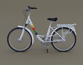 blender 3D model City Bicycle