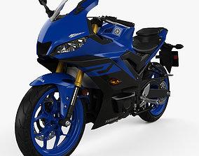 Yamaha YZF-R3 2019 3D