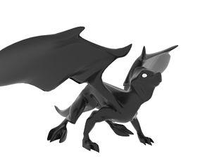 3D model Medium Iguana Dragon