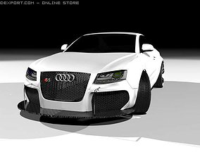 Audi s5 sport tuning ART power 3D model