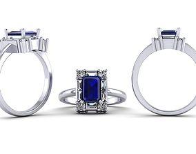 3D print model custom ring