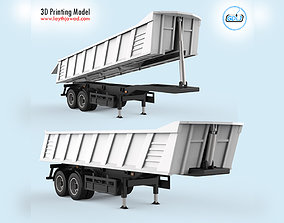 3D print model Heavy Tipper Trailer