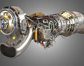 3D model Europrop - TP400-D6 Turboprop Engine