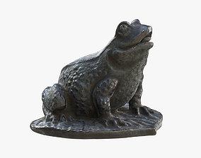 3D model Frog on a Leaf