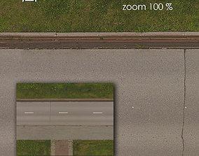 3D model Aerial texture 302