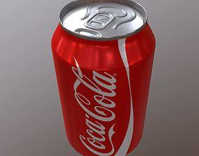 Coca-Cola Can 3D asset
