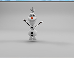 3D model Disney OLAF