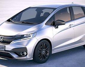 3D car Honda Jazz 2018