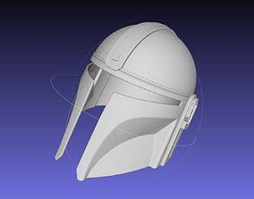 Star Wars Mandalorian Helmet Printable Model
