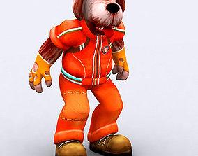 3DRT - Doggy Fantasy Character animated