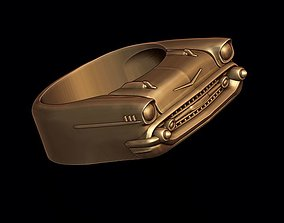 car ring 6 3D printable model