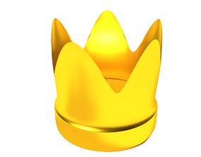 Crown 3D asset game-ready