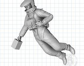3D printable model Floating Dave - Astronaut Figure